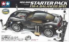 Tamiya 18710 1/32 Mini 4WD Starter Pack FM-A Chassis Balanced Spec Rowdy Bull