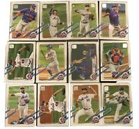 2021 Topps Series 1 New York Mets Team Set 12 Cards Pete Alonso Jacob deGrom