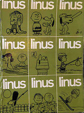 [816] LINUS ed. Milano Libri 1965 annata completa 1/9 + raccoglitore stato Buono