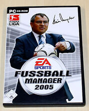 Fifa Futbol Manager 2005-PC juego-EA Sports
