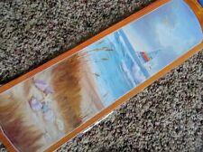 New Ceiling Fan Blade Decals/Applique Room Decor Sea Shore set/ 5 Removable