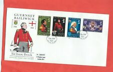 Guernsey stamps. 1969 Sir Isaac Brock FDC (F312)