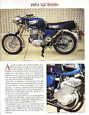 1974 MZ TS250 Article - Must See !!