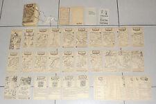 TAROCCO GEOGRAFICO DELL'EUROPA Gioco Tarocchi Tarot IL MENEGHELLO 1985 numerati