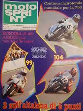 Motosprint 37 1979 speciale Test a Imola della Guzzi V50 - Barry Sheene [SC.31]