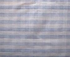 100% Handmade Cotton Fabric Genuine Homespun Blue & White Handwoven Khadi