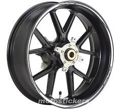 Adesivi cerchi tuning per Honda Hornet - stickers wheels