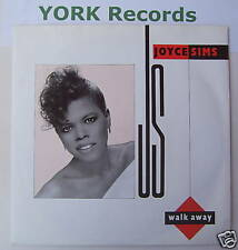 "JOYCE SIMS - Walk Away - Excellent Condition 7"" Single"