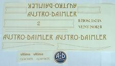 Austro Daimler Olympian or Vent Noir 11 decals choice