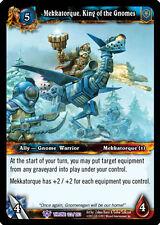 WOW WARCRAFT TCG THRONE OF TIDES : MEKKATORQUE KING X 4