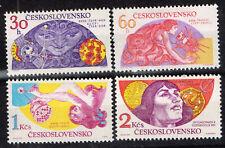Czechoslovakia Space Astronomy set  1975 MLH