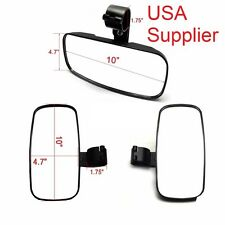 3 set Universal UTV Side & Rear View Mirrors Set Fit All UTV 1.75 Inch OD Bar