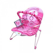 Baby Vibrating and Musical Bouncy Chair – Pink Butterfly