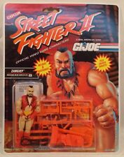 G.I. Joe Capcom Street Fighter 2 Zangief Wrestler Action Feature Hasbro (MOC)