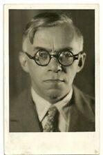 Judaica rare Old RPPC Postcard Zeev Jabotinsky Betar