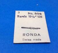 3 NEW Winding Stems MARVIN RONDA CAL 520  N 503 SWISS  MADE