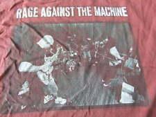 Vintage Rage Against The Machine 90 T Shirt Single Stich Rock Tour concert rare