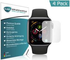 """Slabo 4x Displayschutzfolie für Apple Watch Series 4 (44mm) KLAR """"Crystal Clear"""""""