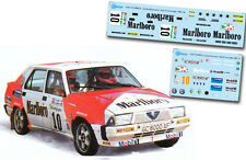 Decal 1:43 Carlos Alonso Lamberti - ALFA 75 AMERICA - Rally El Corte Ingles 1988
