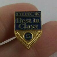 Vintage BUICK 5 year Service Award Anniversary pin pinback button Best Class *FF