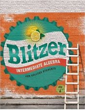 Intermediate Algebra for College Students (7th Edition) by Blitzer (LOOSELEAF)