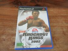 KNOCKOUT KINGS 2002      ----- pour PS2