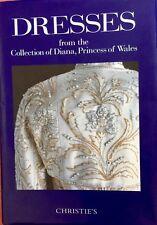 PRINCESS DIANA BOOK OF DRESSES CHRISTIES AUCTION CATALOG