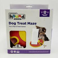 OUTWARD HOUND Dog Treat Maze Interactive Puppy Toy Treat Dispenser Game **NEW**