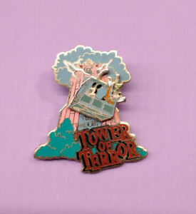 Disney Pin Pins #4932 WDW - Disney-MGM Tower of Terror (Mickey & Goofy)