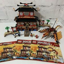 LEGO NINJAGO Fire Temple (2507) INCOMPLETE Retired Set from 2011