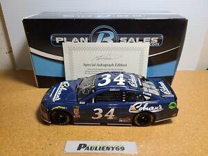 2018 Michael McDowell #34 Coburn's Autograph *DOOR #* 1:24 NASCAR Action MIB
