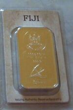 Münzbarren Silberbarren Fiji  100 Gramm