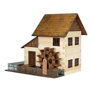 Walachia W16 Wooden Watermill (196 pieces)