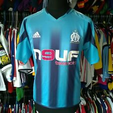 Olympique Marseille 2004 away football shirt Adidas Jersey Taille Adulte S