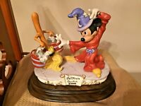 DISNEY'S SORCERER MICKEY FIGURINE BY LAURENZ LIMITED EDITION #192/5000 RARE! VIN