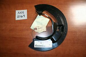 NOS Ford Front Disc Brake Splash Shield L F2AZ-2K005-A Crown Victoria Town Car