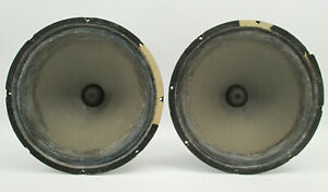 "PAIR of RCA MI-9449 15"" LF Speaker Driver Mechanism 15-inch Woofers"