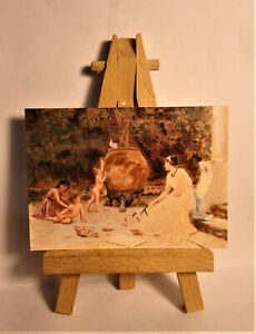 When the heart is young ACEO Original PAINTING by Ray Dicken a Sophie Anderson