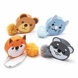 Fluffy & Cute Retractable Tape Measure Cracker Filler Gift