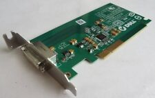 LOT 45 X DELL 0FH868 FH868 DESKTOP PC DVI PCI-E LOW PROFILE GRAPHICS VIDEO CARD