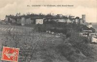 BF3570 chinon le chateau cote nord ouest france