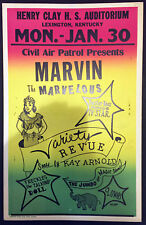Original Marvin The Marvelous Window Card