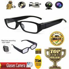 Gafas de espía oculta cámara HD 720/1080P DVR Video Grabadora Anteojos Gafas NVR