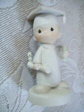 """Precious Moments The Lord Bless You and Keep You Figurine Enesco 5"""" Graduate"""