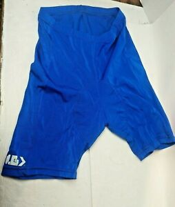 "Louis Garneau Blue Lightly Padded Bike Shorts  Size P-S (Approx 23"" waist)"
