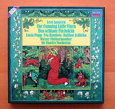 D257D 2 Janacek The Cunning Little Vixen Popp Mackerras DECCA 2xLP NM no booklet