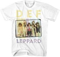 DEF LEPPARD - Band Picture - T SHIRT S-M-L-XL-2XL Brand New - Official T Shirt