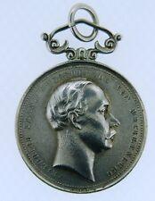 MEDAGLIA IN ARGENTO FREDRICH FRANZ III PER I CIVILI 1885-1918  COD.M116