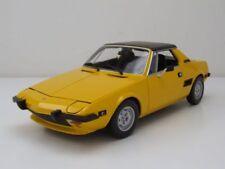 Fiat X1/9 1974 gelb, Modellauto 1:18 / Minichamps