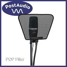 "Post Audio Microphone POP Filter Flexible Metal Mesh 14"" GooseneckWashable NEW"